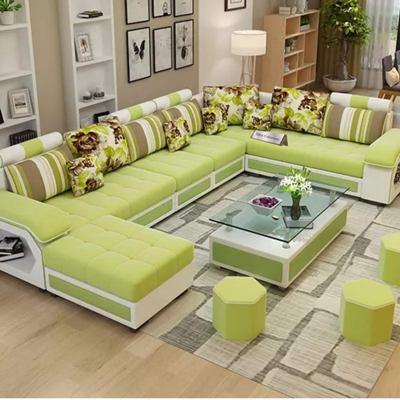 Zikra Dapper Interchangeable U Shape Lounger for Living Room