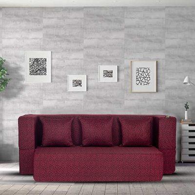 Fresh Up Revolve 3 Seater Sofa Cum Bed